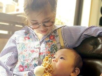ココ(KOCO.)の写真/プライベートサロンだから周りも気にならない★ご家族でのご来店も!親子で一緒にいられるので安心♪