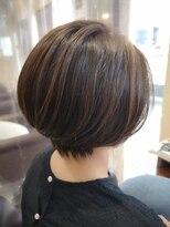 パッション 石巻店(PASSION)広がりやすい髪もお手入れしやすいグラボブスタイル!