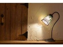 カシェート 狭山市西口店(cachette)の雰囲気(壁や棚はスタッフの手塗り♪DIYたっぷりの店内でのんびりと)