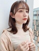 ガーデントウキョウ(GARDEN Tokyo)【GARDEN荒井夏海】小顔見せレイヤーミディアム×シースルー前髪