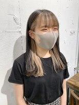 【岡田 陸】前髪ありのインナーカラー