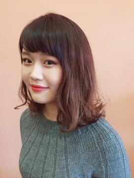 ニコ ヘアーアンドメイク(nico hair&make)《nico》ピンクグラデーション