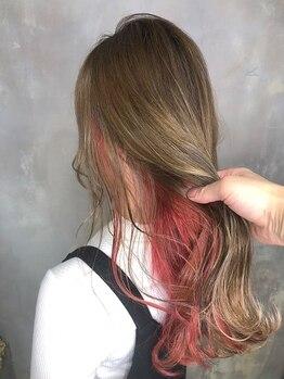 ザ ヘア ディードットログ(The hair D.Log)の写真/海外でも経験を積んだ高技術が光る!実力派サロン★豊富なカラーメニューで思い通りの髪色が叶う♪