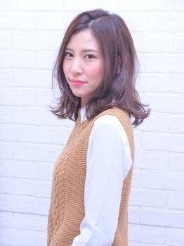 美容室樹蘭子 イオン松山店の写真/しっかり白髪カバーをしながらハリ・コシ・ツヤ・なめらかな手触りを叶える≪ファイバーガード、キュア≫