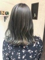 ヘアーメイク アフィーノ(hair make affino)オリーブカラー