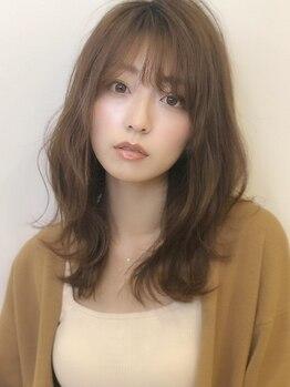 アグ ヘアー ハルカ 綾瀬店(Agu hair halca)の写真/【3Dデジタルパーマ+カット¥6500】創られる曲線は女性らしく、可愛い。文句なしの可愛さ!Stylingも簡単!