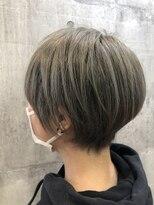ニコ(nico)ショート grey color