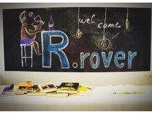 アールローバーバイエイチ(R.rover by H)の雰囲気(黒板の絵を毎月変更!!プロジェクターで映画を流したりも♪)