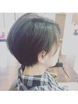 hair&make Rivia『リヴィア』2019.バッサリショートスタイル