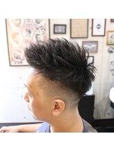 グルーミングヘアー イッサ(Grooming Hair ISSA)ジェットモヒカン×フェード