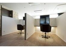 【心地よい空間】女性スタッフのみの全席半個室空間で極上のリラックス空間