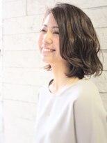 ヘアーデザイン スロープ 稲毛海岸店(Hair Design Slope)柔らかウェーブボブ