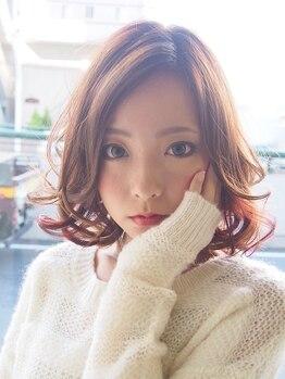 ローグ(logue)の写真/カット【¥4000】1mm単位までこだわる巧みなカットであなたの魅力を引き出す…前髪まで可愛く似合わせます♪
