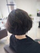 クール ヘアー ギャラリー 神明町店(COOL Hair gallery)フワッと大人ボブショート