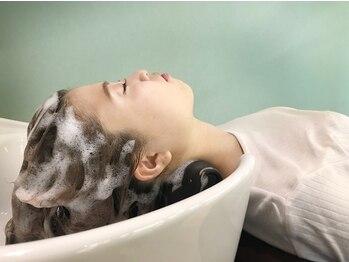 モリオ フロム ロンドン 大宮2号店(morio from London)の写真/エイジングスパで顔が上がり小顔効果☆香りの効果で気分も満たされます。