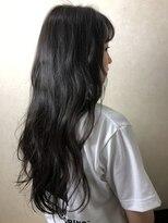 ヘア プロデュース キュオン(hair produce CUEON.)ブルージュ × ロング