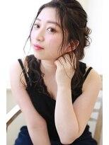 【over hair】抜け感☆ふんわりヘアアレンジ