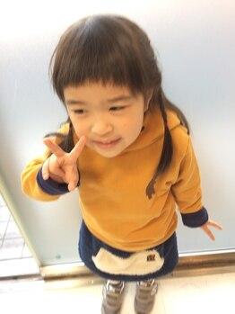 ヘアーズ アトリエ ユキ(hair's atelier YUKI)の写真/YUKIの大人気メニュー☆平日限定おやこカット☆でお得な割引あり♪《予約制》