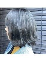 ノル(nol hair&spa)暗髪×ダークグレー