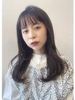 マグノリア オモテサンドウ(MAGNOLiA Omotesando)黒髪さんの柔らかワンカールパーマ[YOSHIBA]