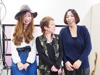 シュシュ(chou*chou)の写真/全員女性スタッフだからこそ【リラックスできるサロンタイム】をご提供♪お悩みに共感しつつアドバイス★