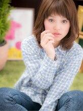 カバーヘア ブリス 戸田公園店(COVER HAIR bliss)*+COVER HAIR+*…眉見せでハッピーフェイス☆a