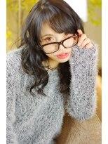 ヘアーリメイク マイ(hair remake Mai)黒髪でもこんなに可愛く 立体ルーズウェーブ