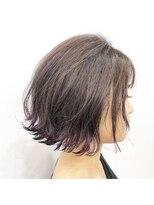 エトネ ヘアーサロン 仙台駅前(eTONe hair salon)【eTONe】透明感のあるピンクバイオレットの裾カラー
