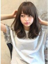ミラリー トウキョウ(Mirareee Tokyo)大人かわいい前髪!似合わせフリンジウェーブココアブラウン新宿