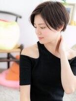 【macaron】前髪長め☆ハンサムショート