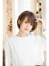 アトリエマサコ ホテル横浜キャメロットジャパン店(Atelier MASAKO)大人可愛い小顔ショートボブ