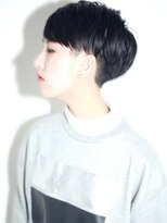 ルーク(LUKE)黒髪×セミウエット
