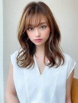 【白川style】20代30代40代小顔カットセミロングモテ髪レイヤー