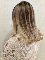 フローレス バイ ヘッドライト 三鷹店(hair flores by HEADLIGHT)バレイヤージュ_SP20210305