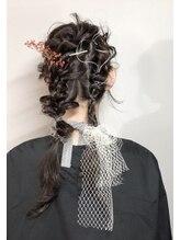 アール ヘア(AR hair)二本の編みおろし