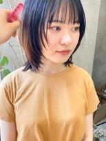 テトヘアー(teto hair)マッシュウルフ ミディアムレイヤー ボブウルフ  ウルフ 大人