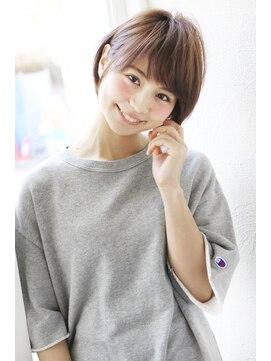 アンアミ オモテサンドウ(Un ami omotesando)【Un ami】《増永剛大》オススメ、黒髪OK、ふんわりショートボブ