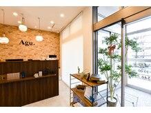アグ ヘアー グローリー 上越店(Agu hair glory)の雰囲気(店内はモダンでアンティーク調な雰囲気♪)