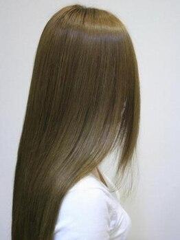 ピークスヘア(peaks hair)の写真/西大橋駅スグ☆【カット+システムトリートメント¥7000】髪のお悩みに…アナタだけのCare&Designを実現。