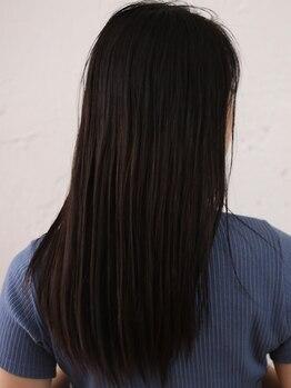 """グランド(GRAND)の写真/[髪質改善]今大人気のoggiottoで""""なりたい髪質""""に。ダメージが気になる髪にも潤いのあるツヤ髪を実現!"""