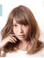 アリア トータルビューティー(Aria total beauty)メルトカラー☆フェミニンミディ