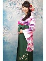 サロンド クラフト(salon de craft)【卒業式】袴お着付けに合う編み込みヘアアレンジ♪