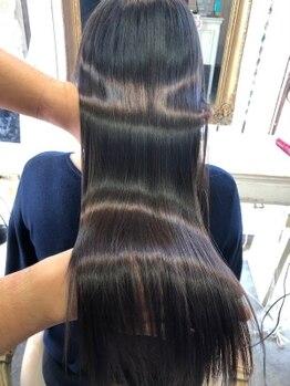 ミルシー(millci)の写真/髪質改善専門店の白髪染めは明るい白髪染めから髪と頭皮も綺麗にします!