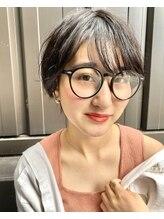 ヴィダ クリエイティブ ヘアーサロン(Vida creative hair salon)夏はばっさり!イメチェンショート×ニュアンスパーマ20歳30代