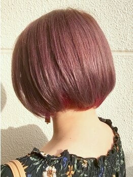 フェアレディ 仙川店(FAIR LADY)の写真/毛先まで艶感たっぷりの旬カラーにチェンジ!トレンド感溢れる3Dカラーで、仕上がりもワンランクUP♪
