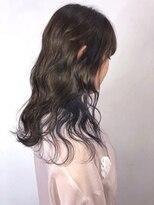 ソース ヘア アトリエ 京橋(Source hair atelier)【SOURCE】インナーネイビーブルー