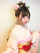 全国一位経験アリ☆振袖 袴 成人式 卒業式 ヘアアレンジ