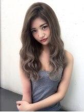 アンジェリカ 難波店(Angelica)グラデーションカラーかきあげロング☆☆☆