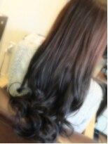 ヘアーリゾート ラヴィニール 新宿東口店(Hair Resort L´avenir)グラデーションカラー ネイビー 【Lavenir新宿】