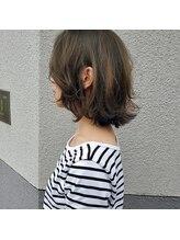 ヘアーメイク スクエア ウーノ(HAIR MAKE SQUARE uno)ベージュハイライト